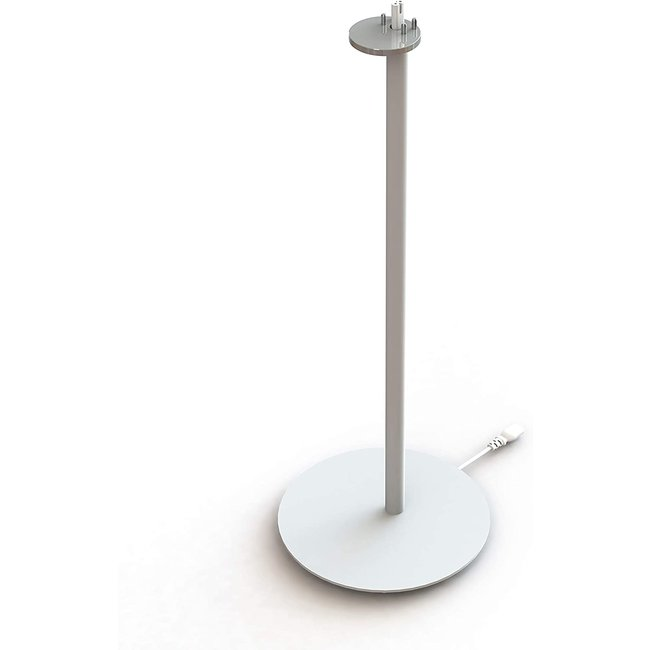 NOVA Sonos S1/P1 Floor Stand Single White for Sonos One/One SL/Play:1 Speaker