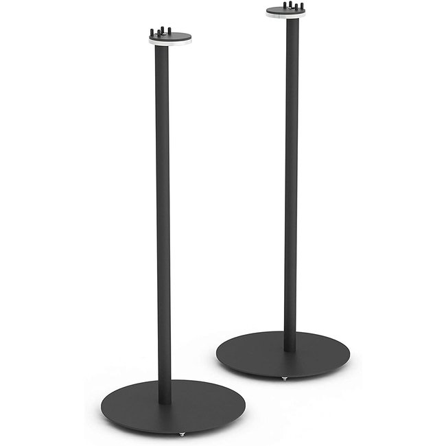 NOVA Sonos S1/P1 Floor Stand 2 Pack Black for Sonos One/One SL/Play:1 Speakers