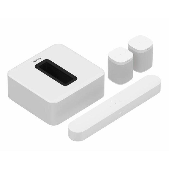 Sonos Beam (Gen:1), Sub (Gen:3) & 2x One SL Speaker Bundle