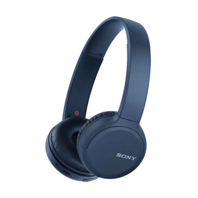 Sony WH-CH510L Blue Bluetooth Headphones