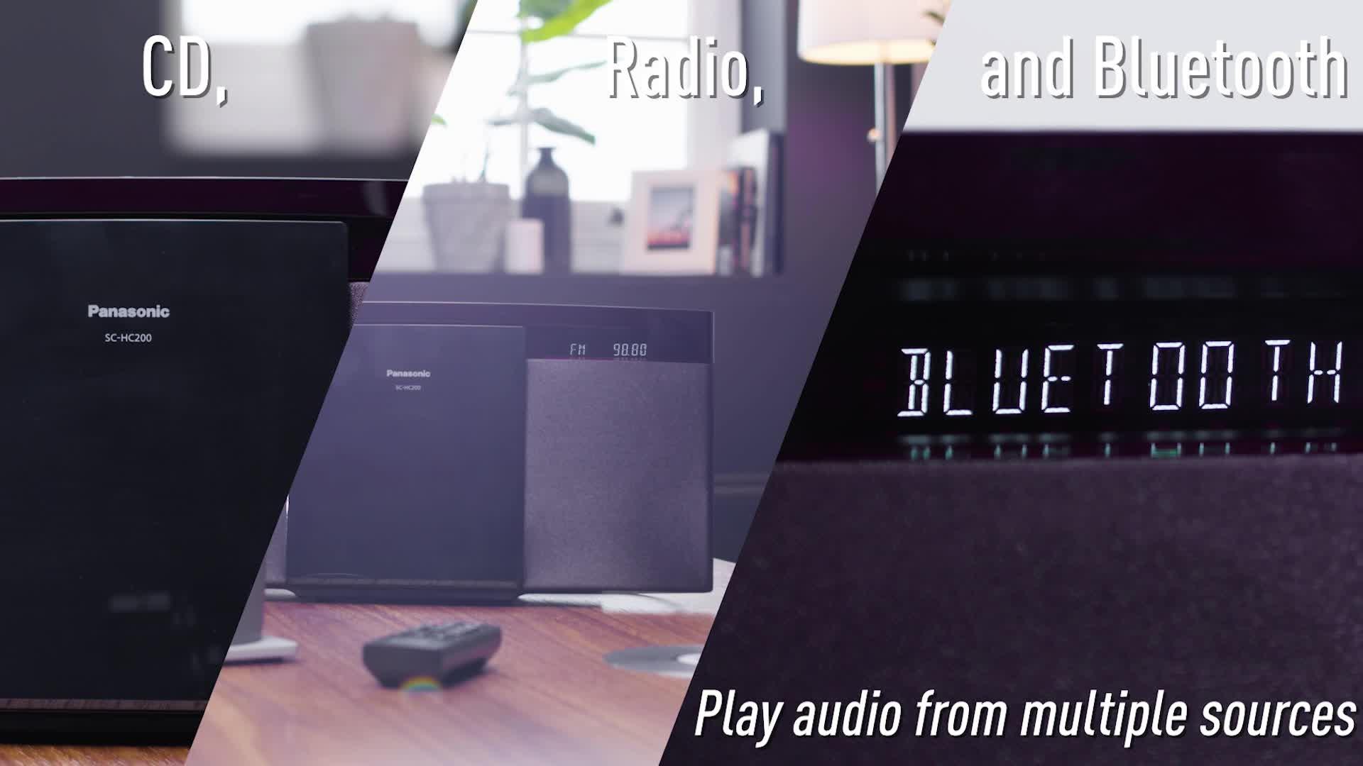 Panasonic Compact Hi-Fi System Round-up | Powerbutton