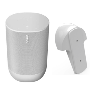 Sonos Move Portable Speaker + Flexson Wall Mount Bundle