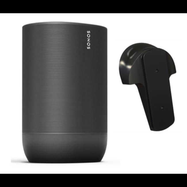 Sonos Move Portable Speaker + Flexson Wall Mount Bracket Bundle