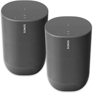 Sonos MOVE 2 Pack Speaker Bundle