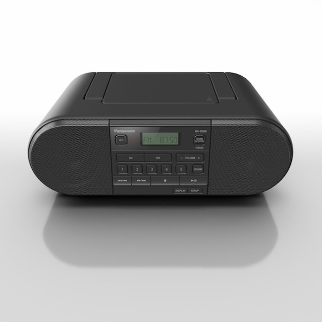 Panasonic RX-D500EBK Portable FM/CD Player Black