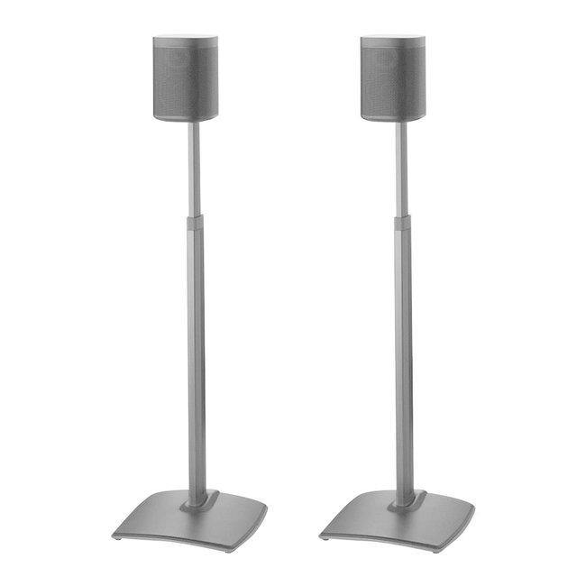 Sanus WSSA2 2 pack Adjustable Speaker Floor Stands for Sonos One, One SL, Play;1 & Play:3