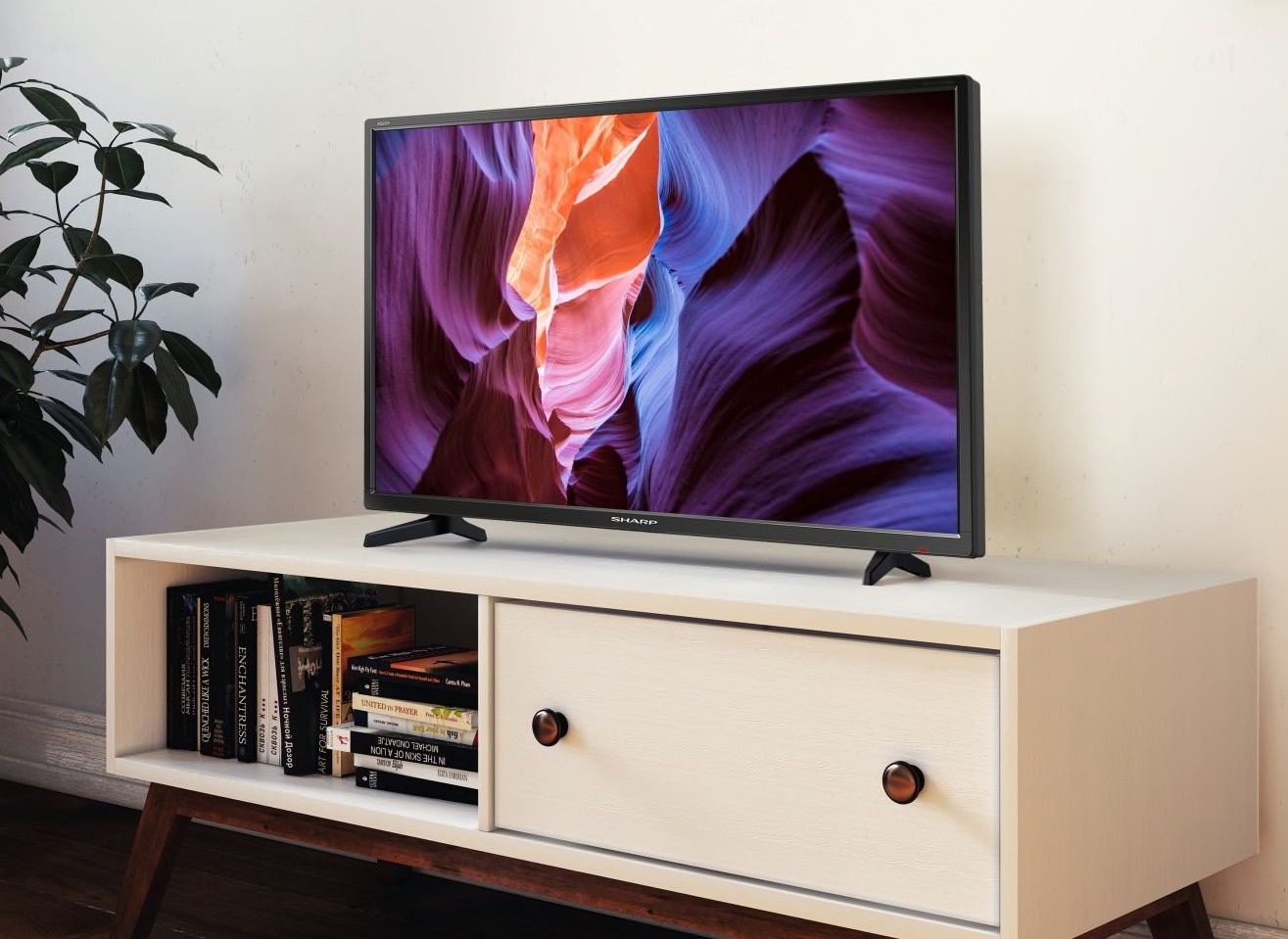 Explore our range of new Sharp Smart LED TVs from Powerbutton