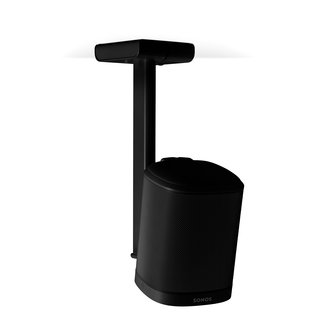 Flexson Black Ceiling Mount for Sonos One/One SL/Play:1