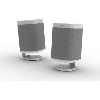 NOVA S1/P1 Desk Stand Pair for Sonos One/One SL/Play:1 Speaker White