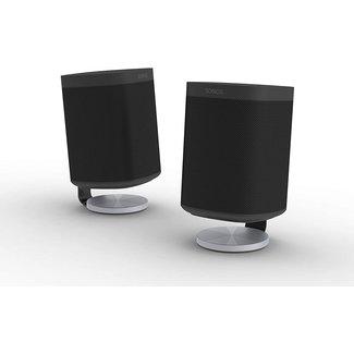 NOVA S1/P1 Desk Stand Pair for Sonos One/One SL/Play:1 Speaker Black
