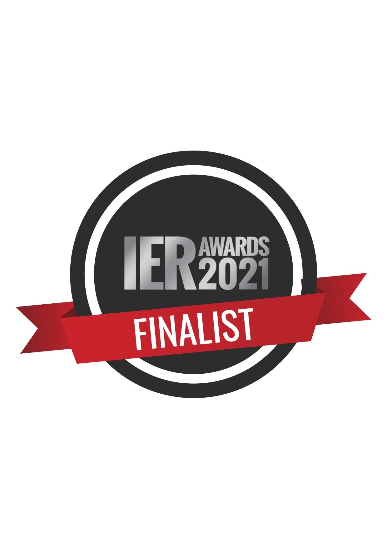 "IER Award Finalist 2021 for "" Best Independent Retailer Website""."