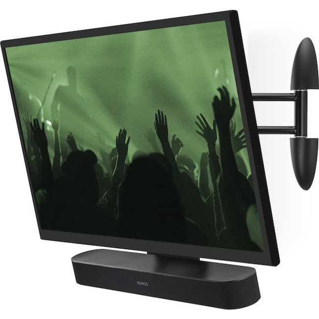 Sonos Beam (Gen:2) Soundbar & Flexson Cantilever TV Mount Bundle