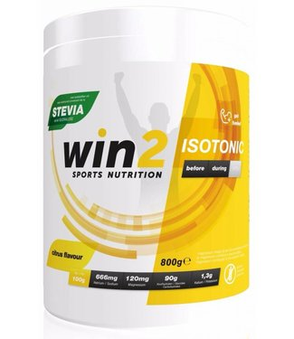 Win2 Isotonic Sportdrink Citrus