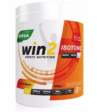 Win2 Isotonic Sportdrink rode vruchte