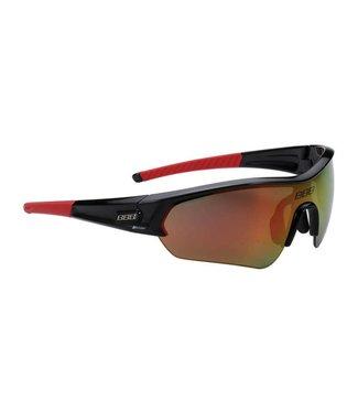 BBB BBB Select BSG-43 Sportbril Zwart Rood