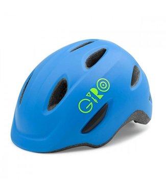 Giro Giro Scamp MIPS Fietshelm kinderen mat blauw lime