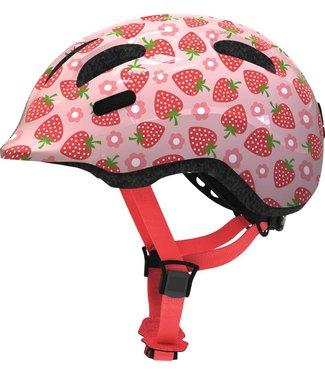 Abus Abus Smiley 2.1 Fietshelm Kinderen Rose Strawberry
