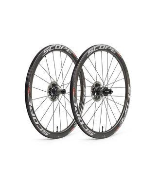 Scope Cycling Scope R4 Carbon wielset voor schijfremmen