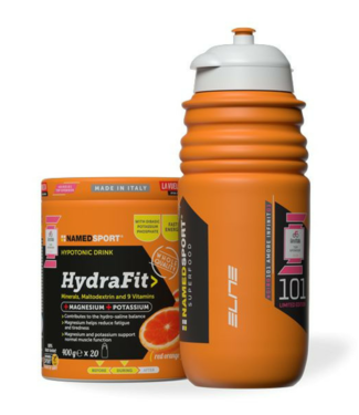 NamedSport NamedSport HydraFit hypotonic drink  400 gram + Gratis Elite Bidon