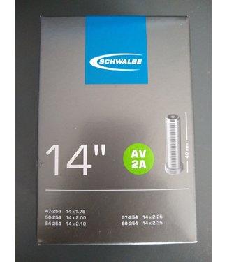 """Schwalbe Schwalbe Binnenband 14"""" schrader 40mm"""