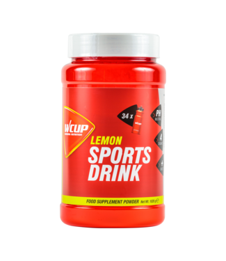 Wcup Wcup Sports Drink Lemon 1020 gram