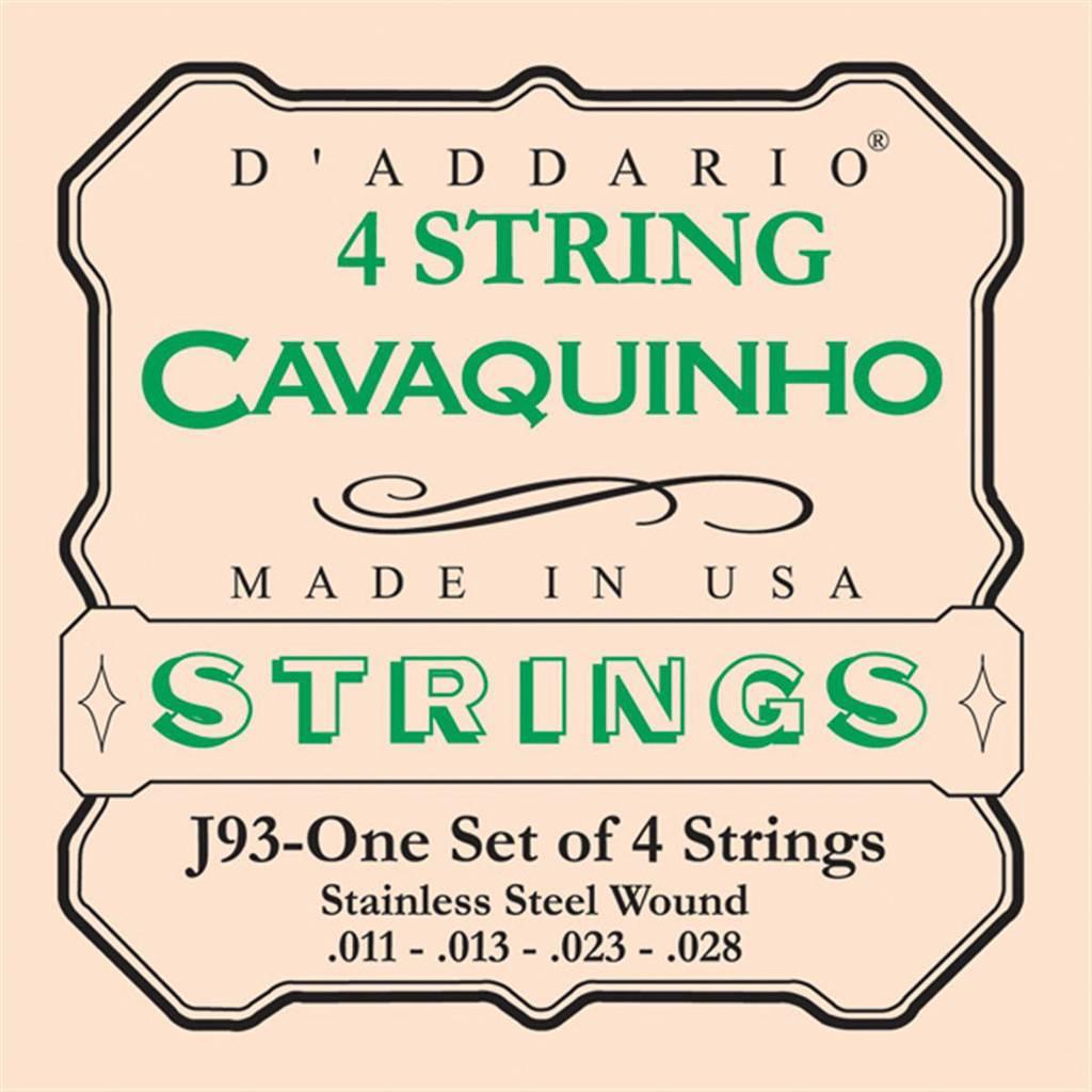 D'Addario D'Addario EJ93 Cavaquino Strings