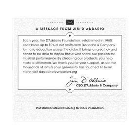 D'Addario D'Addario EJ46C Composites Hard Tension