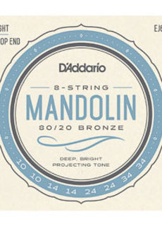 D'Addario D'Addario J62 Mandolin Strings Light
