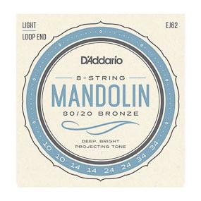 D'Addario D'Addario J62 Mandolin Strings Light