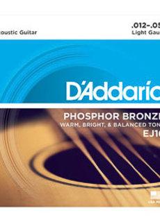 D'Addario D'Addario EJ16 Phosphor Bronze 12-53