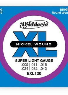 D'Addario D'Addario EXL120 9-42 Nickel Wound