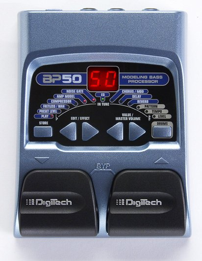 Digitech Digitech BP50PS Bass Multi-Effect