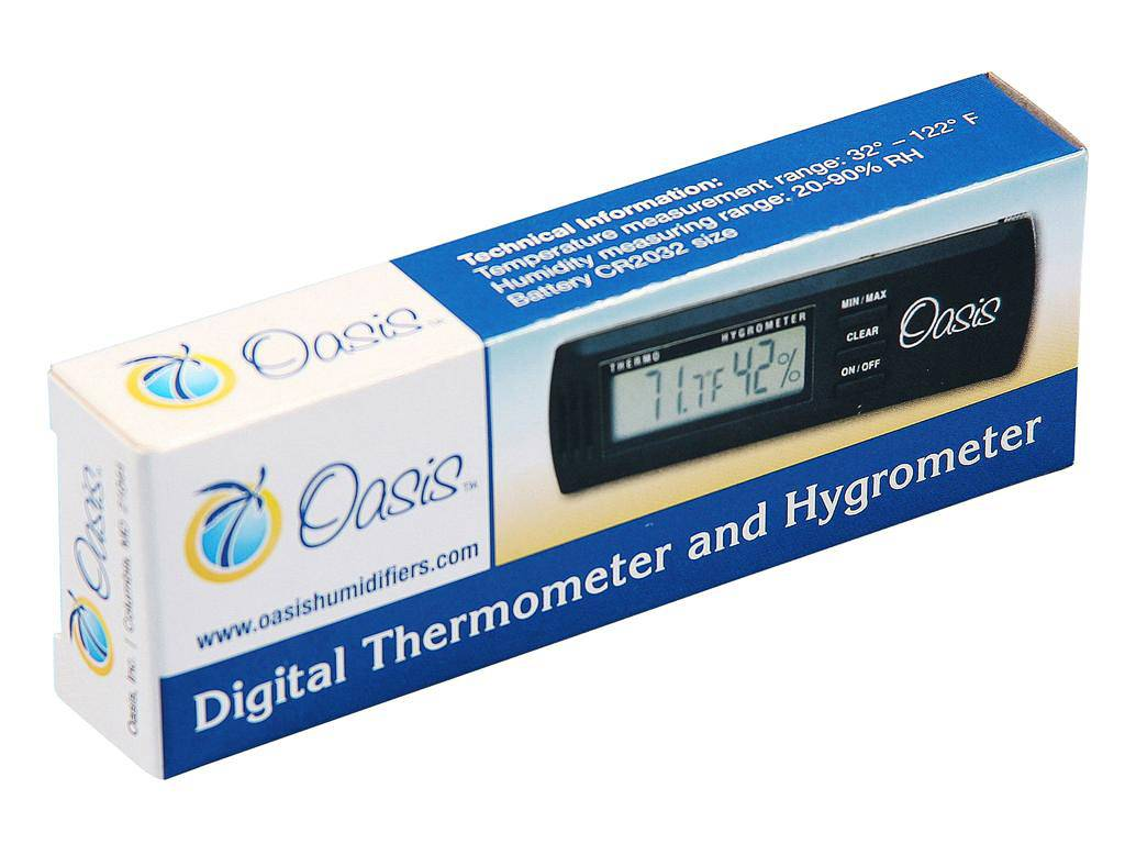 Oasis Oasis OH-2 Digital Thermometer and Hygrometer