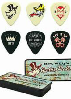 Dunlop Dunlop Rev. Willy's Guitar Picks