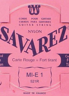 Savarez Savarez 520R Rouge high tension