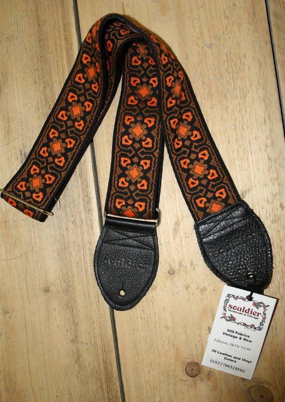 Souldier Straps Souldier Strap Fillmore Brown Orange