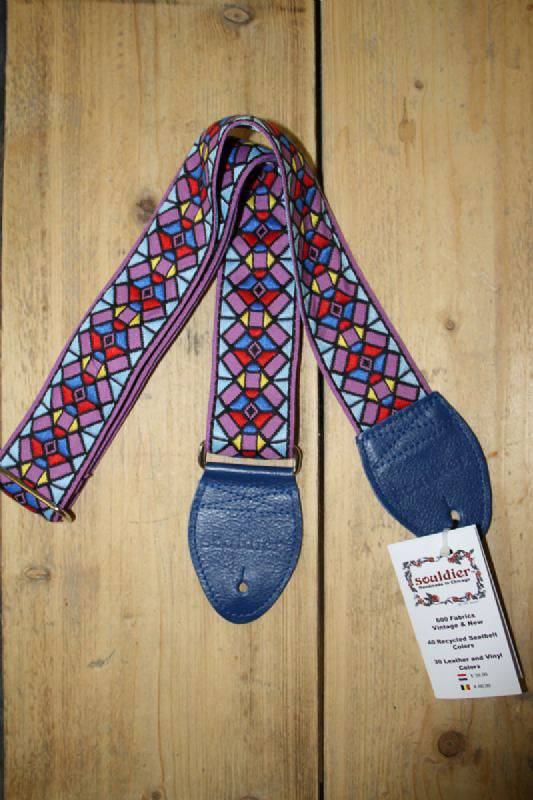 Souldier Straps Souldier Strap Stained Glass Purple