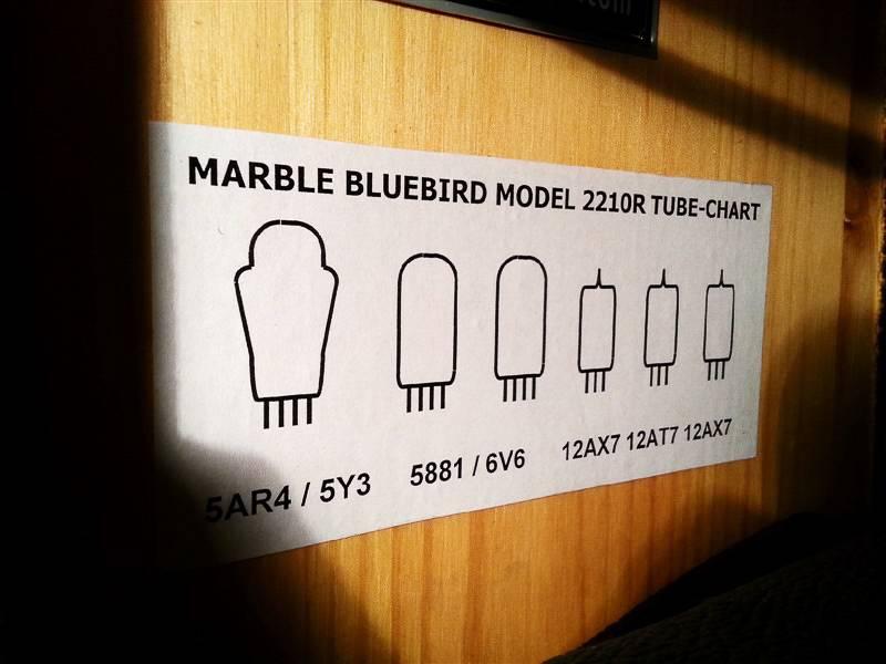 Marble Marble Bluebird w/reverb