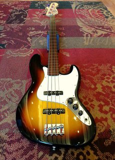 Fender Fender Standard Jazz Bass Fretless Sunburst