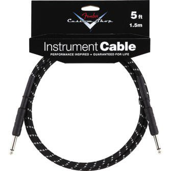 Fender Fender Custom Shop Cable Black/Tweed 5ft