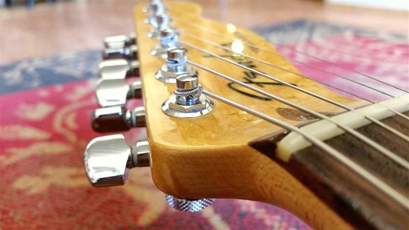 Fender Fender Custom Shop Deluxe Tele RW Tangerine