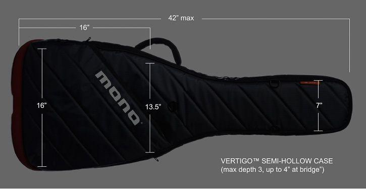 Mono Mono M80 Case Vertigo Semi-Hollow