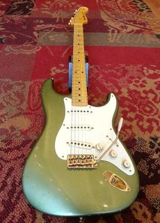 Fender Fender Custom Shop Master Design Todd Krause 1950s Strat Mos Green