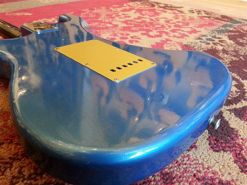 Fender Fender Custom Shop Lt Ed trat RW neck Journeyman Aged Lake Placid Blue