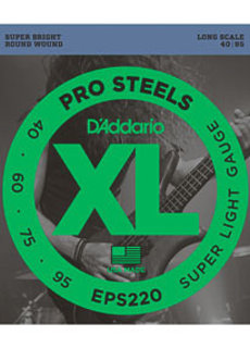 D'Addario D'Addario EPS220 ProSteels Bass 40-95 Super Light