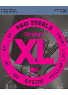 D'Addario D'Addario EPS170 ProSteels Bass Light 45-100