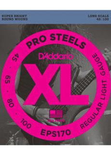 D'Addario D'Addario EPS170 ProSteels Bass Light 45-100