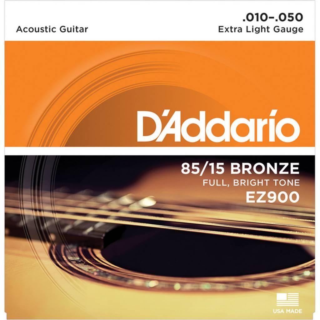 D'Addario D'Addario EZ900 Bronze 10-50 Extra Light