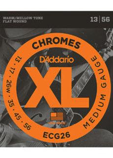 D'Addario D'Addario Chromes ECG 26 13-54 Flatwound