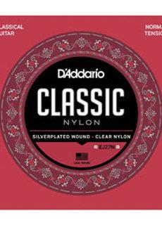 D'Addario D'Addario EJ27N Nylon Strings Normal Tension